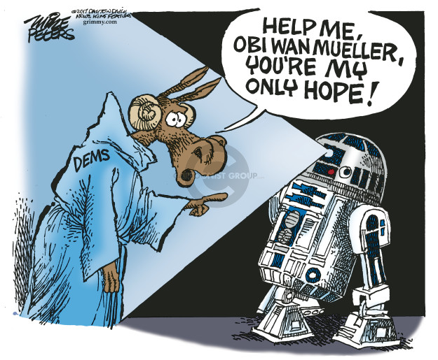 Help me, Obi Wan Mueller, youre my only hope! Dems.