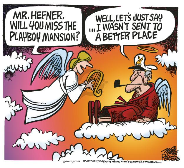 Cartoonist Mike Peters  Mike Peters' Editorial Cartoons 2017-09-29 wasn't