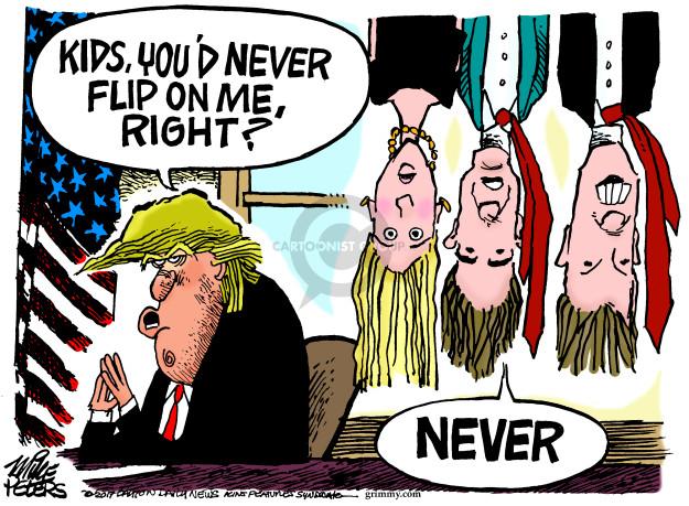 Mike Peters  Mike Peters' Editorial Cartoons 2017-11-03 Presidency