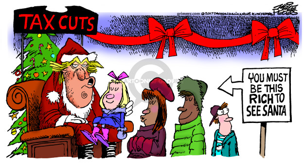 Mike Peters  Mike Peters' Editorial Cartoons 2017-12-20 tax
