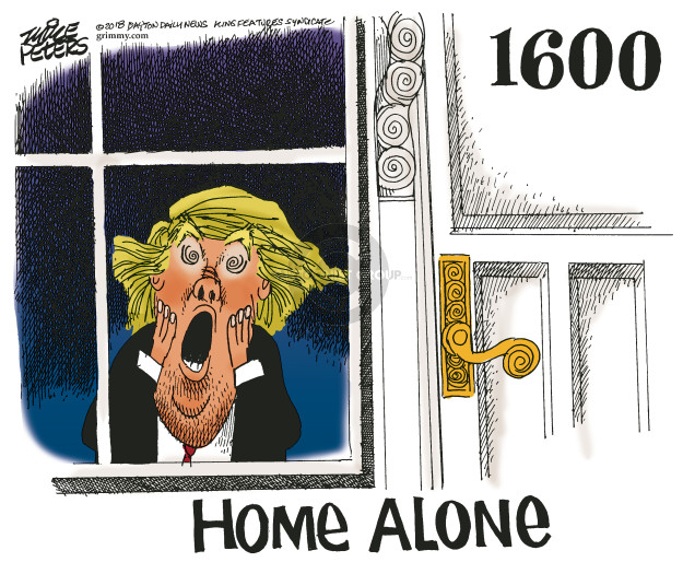 Cartoonist Mike Peters  Mike Peters' Editorial Cartoons 2018-03-02 Donald