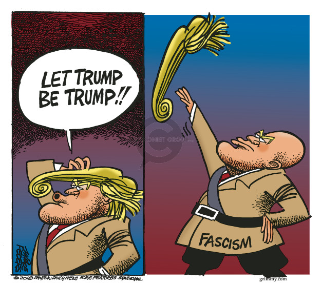 Cartoonist Mike Peters  Mike Peters' Editorial Cartoons 2018-03-14 Donald