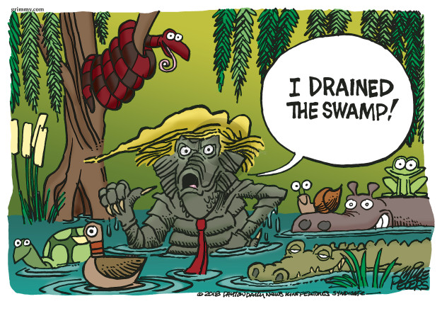 Cartoonist Mike Peters  Mike Peters' Editorial Cartoons 2018-04-11 Donald