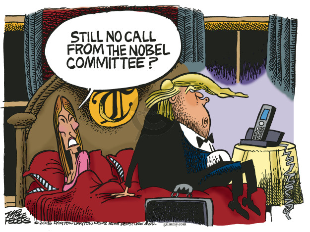 Cartoonist Mike Peters  Mike Peters' Editorial Cartoons 2018-05-16 leader