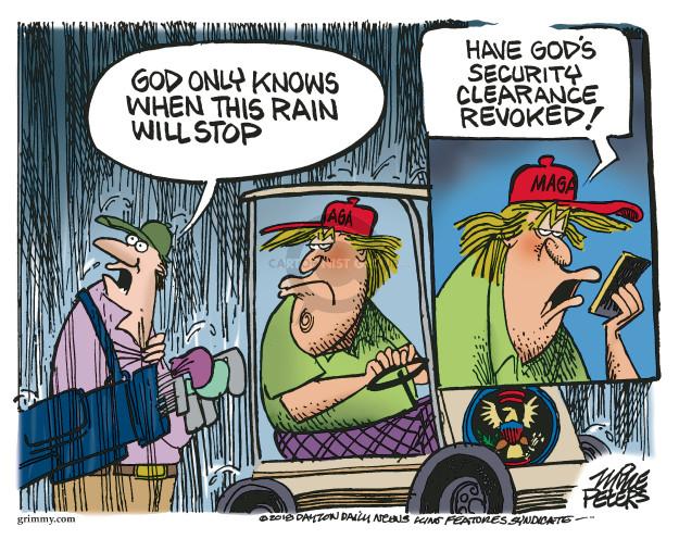 Cartoonist Mike Peters  Mike Peters' Editorial Cartoons 2018-08-17 Donald