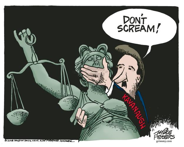 Cartoonist Mike Peters  Mike Peters' Editorial Cartoons 2018-09-18 lady