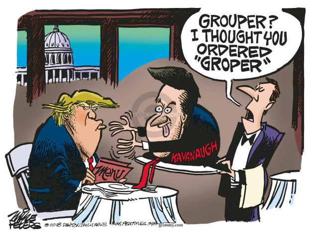 Mike Peters  Mike Peters' Editorial Cartoons 2018-10-03 sexual