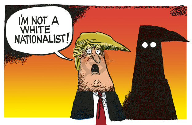 Mike Peters  Mike Peters' Editorial Cartoons 2018-11-02 white