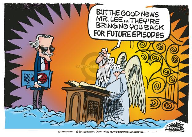 Cartoonist Mike Peters  Mike Peters' Editorial Cartoons 2018-11-13 good book