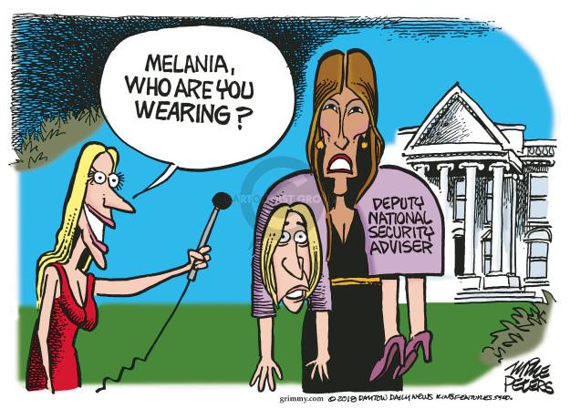 Cartoonist Mike Peters  Mike Peters' Editorial Cartoons 2018-11-15 national security