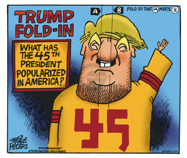 Mike Peters  Mike Peters' Editorial Cartoons 2018-12-11 Trump administration