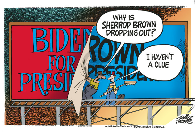 Mike Peters  Mike Peters' Editorial Cartoons 2019-03-08 2020 election