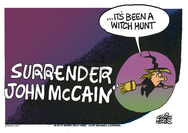 Mike Peters  Mike Peters' Editorial Cartoons 2019-03-22 witch