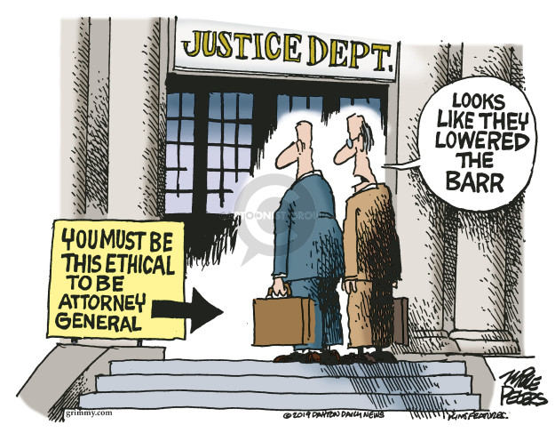 Cartoonist Mike Peters  Mike Peters' Editorial Cartoons 2019-05-02 Russia Investigation