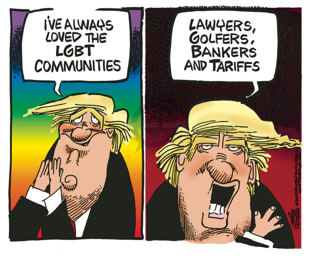 Mike Peters  Mike Peters' Editorial Cartoons 2019-06-04 Donald Trump tariff