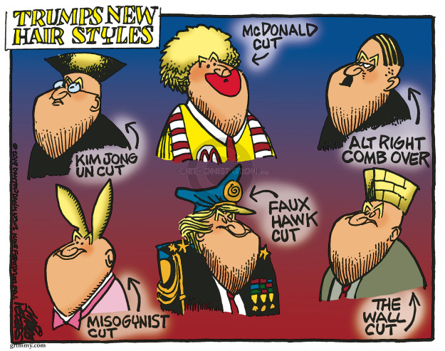 Cartoonist Mike Peters  Mike Peters' Editorial Cartoons 2019-06-06 Kim