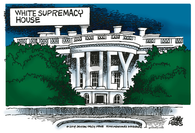 Mike Peters  Mike Peters' Editorial Cartoons 2019-07-20 White House