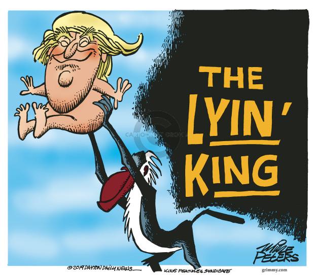 Cartoonist Mike Peters  Mike Peters' Editorial Cartoons 2019-07-25 Mike