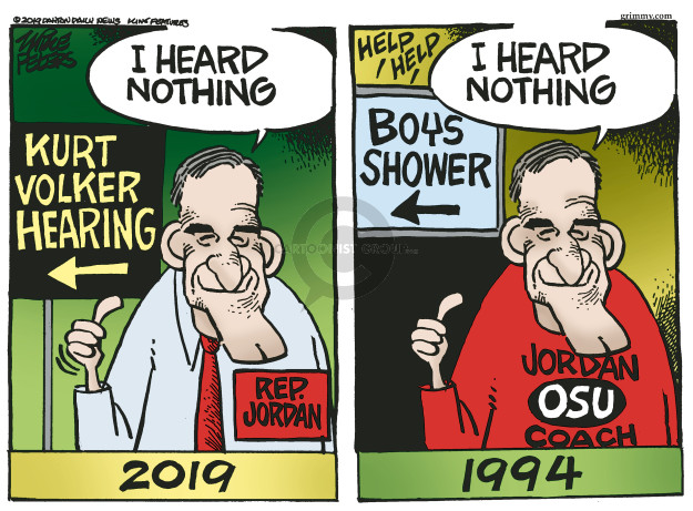 Mike Peters  Mike Peters' Editorial Cartoons 2019-10-11 investigation