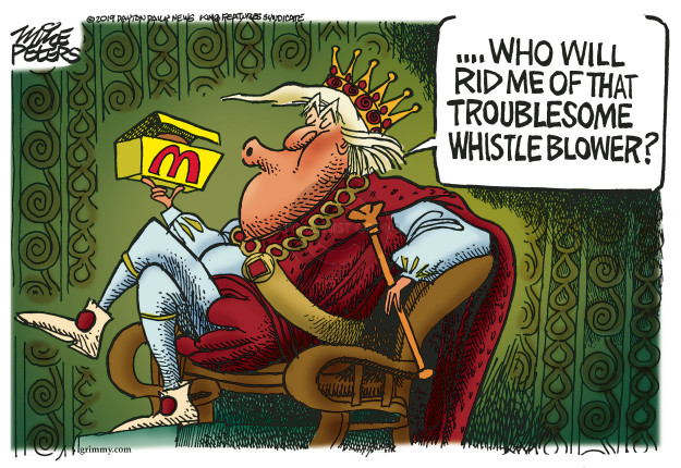 Mike Peters  Mike Peters' Editorial Cartoons 2019-10-17 presidential administration