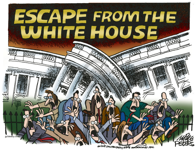 Escape from the White House.