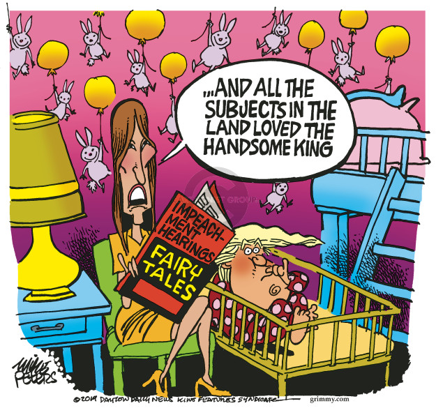 Mike Peters  Mike Peters' Editorial Cartoons 2019-11-14 presidential impeachment
