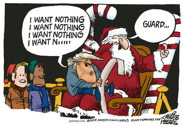 Cartoonist Mike Peters  Mike Peters' Editorial Cartoons 2019-12-05 impeachment