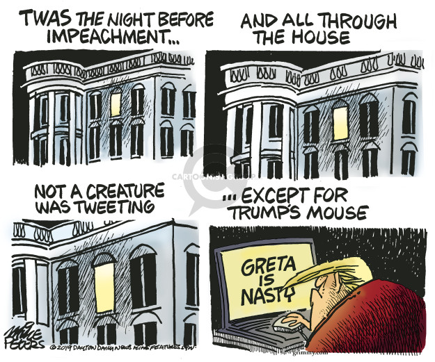 Mike Peters  Mike Peters' Editorial Cartoons 2019-12-13 presidential impeachment