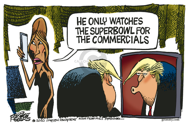 Mike Peters  Mike Peters' Editorial Cartoons 2020-01-31 Melania Trump