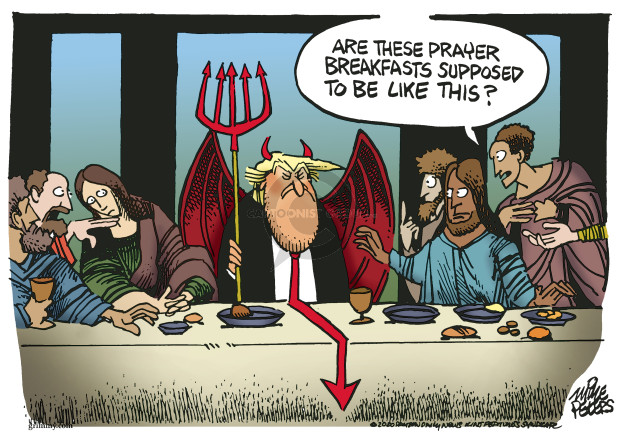 Mike Peters  Mike Peters' Editorial Cartoons 2020-02-07 presidential administration