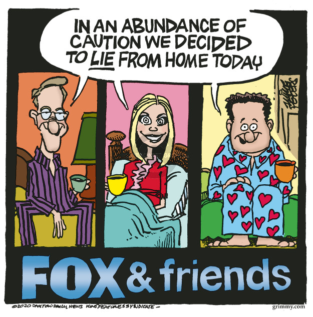 Mike Peters  Mike Peters' Editorial Cartoons 2020-03-17 illness