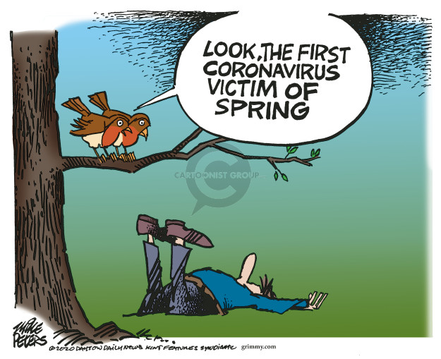 Mike Peters  Mike Peters' Editorial Cartoons 2020-03-26 coronavirus