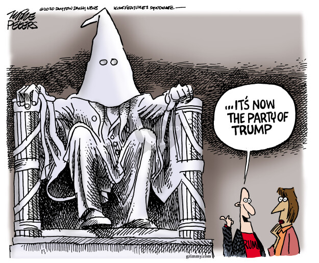 Cartoonist Mike Peters  Mike Peters' Editorial Cartoons 2020-05-04 Donald