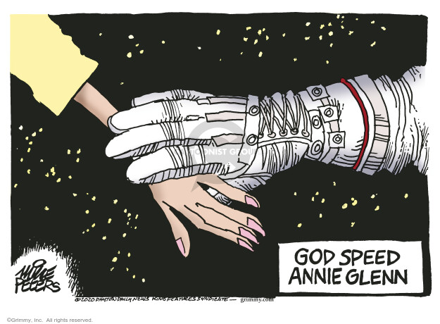 Mike Peters  Mike Peters' Editorial Cartoons 2020-05-20 death