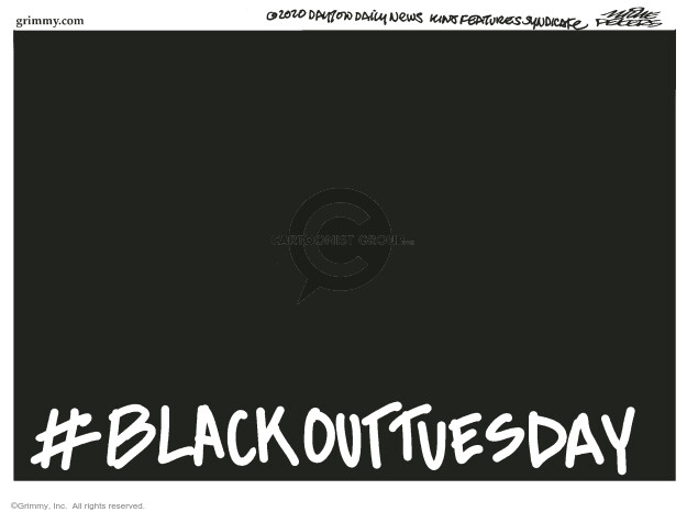 Mike Peters  Mike Peters' Editorial Cartoons 2020-06-02 Black Lives Matter