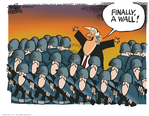 Cartoonist Mike Peters  Mike Peters' Editorial Cartoons 2020-06-03 Donald