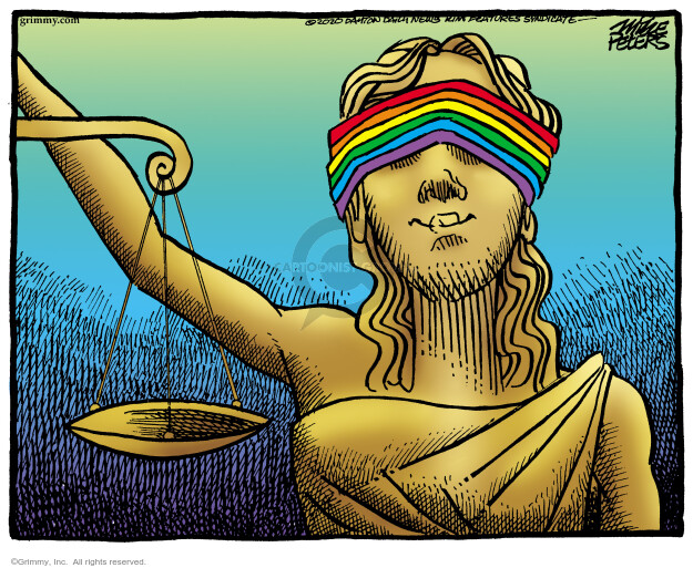 Mike Peters  Mike Peters' Editorial Cartoons 2020-06-16 discrimination