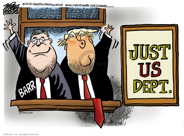Cartoonist Mike Peters  Mike Peters' Editorial Cartoons 2020-06-25 presidential