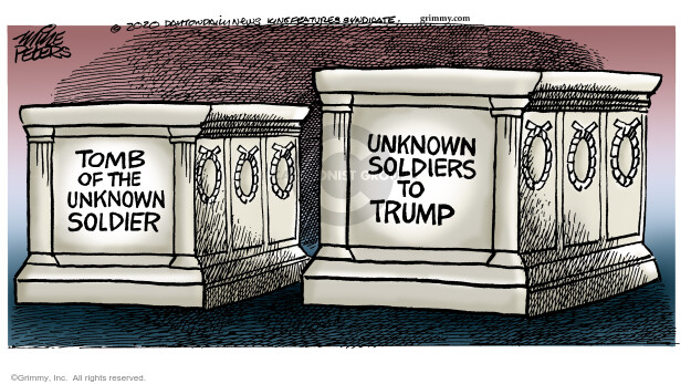 Mike Peters  Mike Peters' Editorial Cartoons 2020-07-01 death