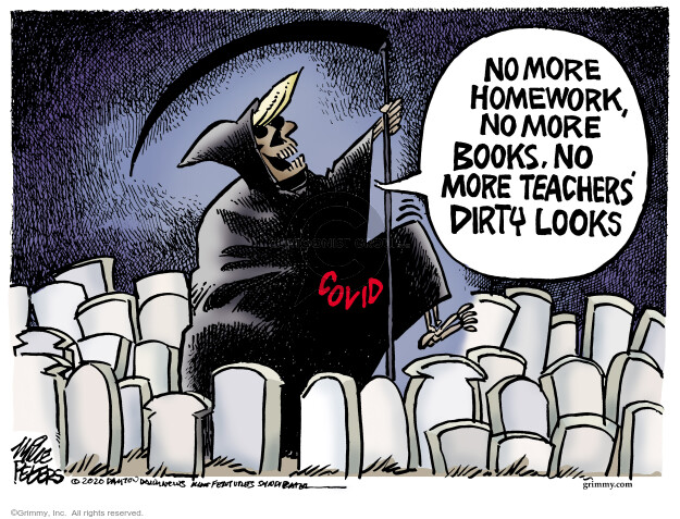 Mike Peters  Mike Peters' Editorial Cartoons 2020-08-05 coronavirus