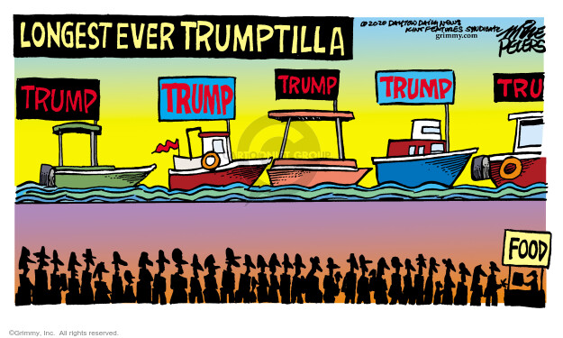 Mike Peters  Mike Peters' Editorial Cartoons 2020-08-19 Donald Trump