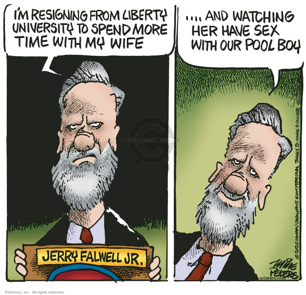 Mike Peters  Mike Peters' Editorial Cartoons 2020-08-26 scandal