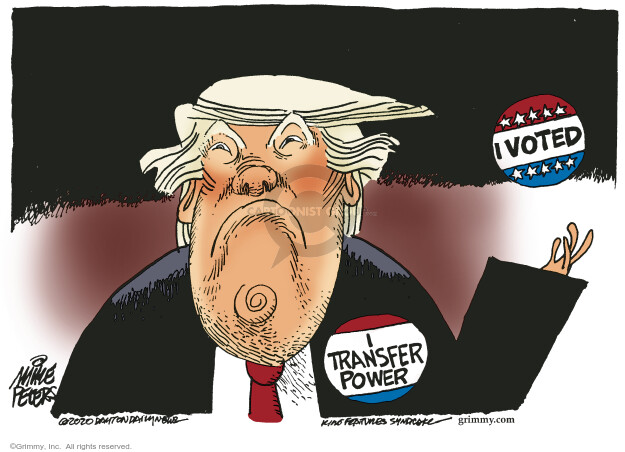 Mike Peters  Mike Peters' Editorial Cartoons 2020-09-23 Donald Trump