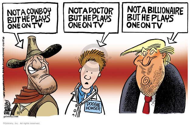 Mike Peters  Mike Peters' Editorial Cartoons 2020-09-30 Donald Trump
