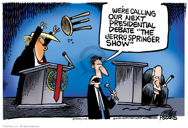 Mike Peters  Mike Peters' Editorial Cartoons 2020-10-01 Donald Trump