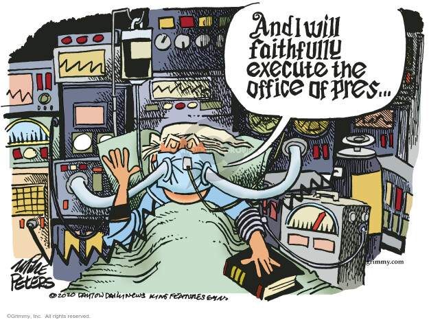 Mike Peters  Mike Peters' Editorial Cartoons 2020-10-03 public health