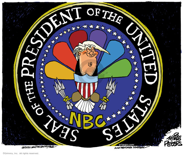 Mike Peters  Mike Peters' Editorial Cartoons 2020-10-15 Donald Trump