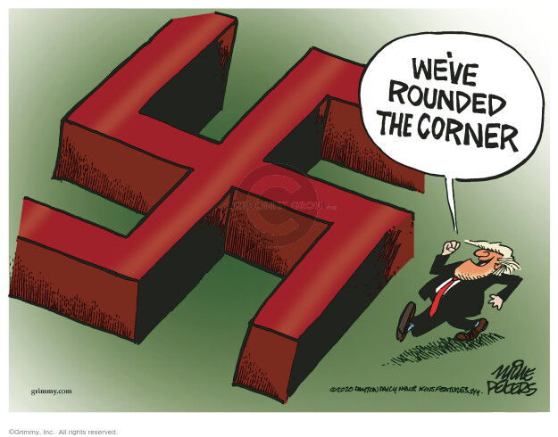 Mike Peters  Mike Peters' Editorial Cartoons 2020-10-24 coronavirus