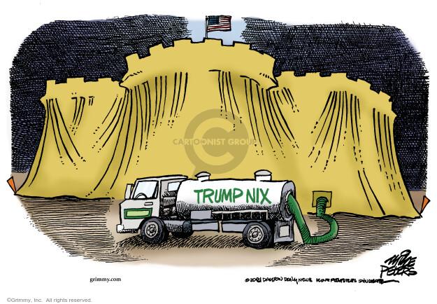 Mike Peters  Mike Peters' Editorial Cartoons 2021-01-14 presidential