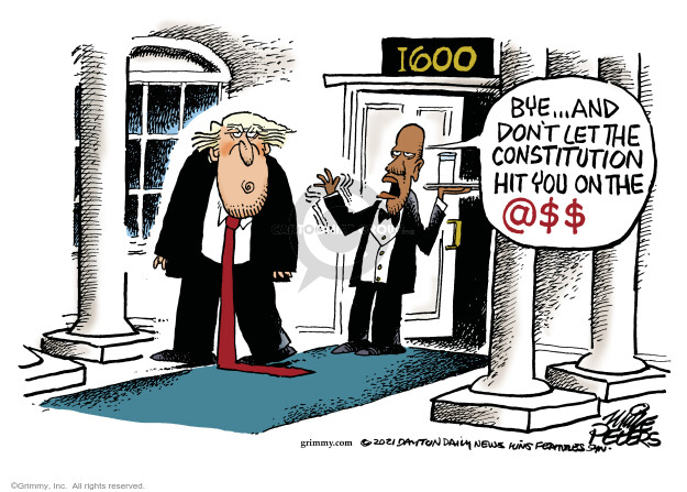 Mike Peters  Mike Peters' Editorial Cartoons 2021-01-20 Constitution